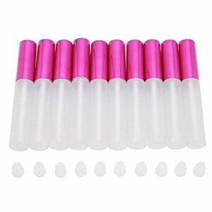 Tomanbery Conteneur de Maquillage Bouteille de Brillant à lèvres Portable pour baume à lèvres pour Femmes pour échantillons de Brillant à lèvres pour Une Utilisation en Voyage