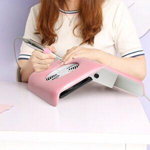 Vinteky® Aspirateur professionnel de table pour ongles, élégant et pratique, idéal pour esthéticiens et salons de beauté