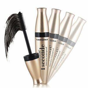 volume black maquillage imperméables à l'eau fibre de 3d longtemps le curling cil mascara extension