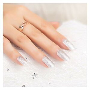 XIAOFANG Vente directe Couleur nudité nage Art Patchs Stickers Ongles OEM Nail Art Patchs nage Art