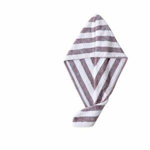 YONGYONGMY Bonnets de Douche 1pcs Microfibre sèche de Cheveux secs Chapeau de Serviette Turban Chapeau de Chapeau de Salle de Bain Mignon Long Cheveux (Color : 2)