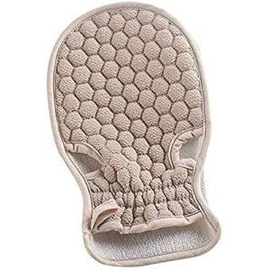 Yuyanshop 1 serviette exfoliante pour le corps – 1 gant de douche exfoliant la peau – Gant de massage en treillis – Gant de toilette pour le corps – Gant de bain exfoliant pour la douche