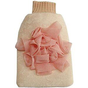 Yuyanshop Serviette exfoliante pour le corps, gants de bain pour adultes, gants exfoliants, serviette pour laver la peau, le dos, le corps, accessoires de massage, gants de toilette exfoliants