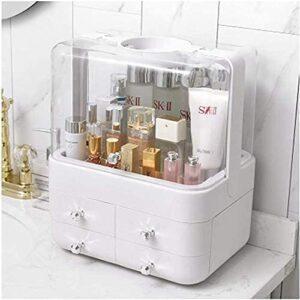 ZRDSZWZ Fiable Dormitory Boîte de rangement en plastique pour produits de soins de la peau Rose Rose