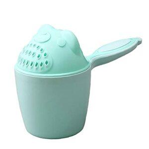 1pc bébé shampooing tasse lavage cuillère cuillère baby douche baignoire bouchons tasse d'eau baignade blagueur shampooing coupe-vert