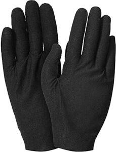 2 paires de gants de coton gants hydratants gants de soin de peau élastique doux Gants de travail pour femmes sèches mains bijoux inspection et plus, une taille pour la plupart mitaines cuir femme JIA