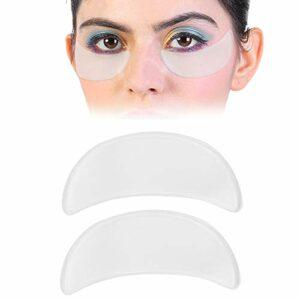 2 pièces Anti-rides visage Patch pour les yeux, outil de soin de lifting de la peau autocollant réutilisable en silicone pour les yeux, pour lisser les rides du froncement des yeux