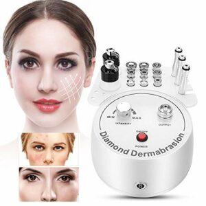 3 en 1 machine faciale de beauté, machine de retrait d'acné de Blackhead d'instrument de soin du visage de machine de Dermabrasion de diamant(EU Plug(220V))