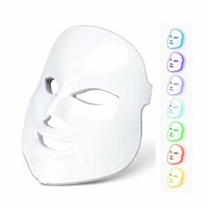 7 couleurs photon lumière LED masque électrique facial peau rajeunissement soin visage