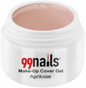 99Nails® Maquillage Cover Gel–Abricot, 1er Pack (1x 15ml)