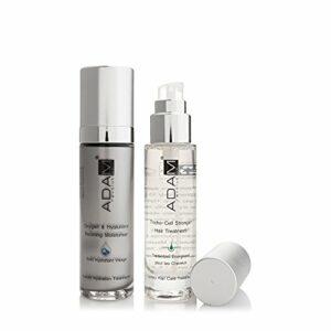 ADAM REVOLUTION Kit pour homme : Soin Hydratant Visage Oxygène, 50 ml + Traitement Energisant pour Cheveux, 50 ml