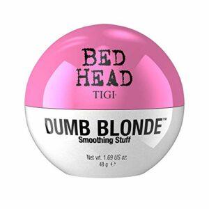 Bed Head by Tigi Dumb Blonde Crème lissante pour cheveux brillants sans frisottis, 48 g