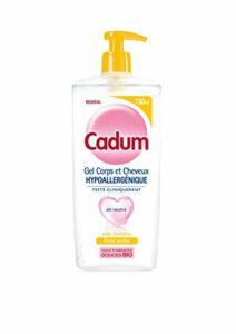 Cadum Gel corps et cheveux hypoallergénique au miel d'acacia – Le flacon de 750 ml