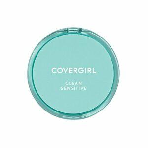 COVERGIRL Clean (teint parfait) – Poudre compacte pour peau sensible , Ivoire classique (W) 210, 10ml Poudrier (Lot de 2)