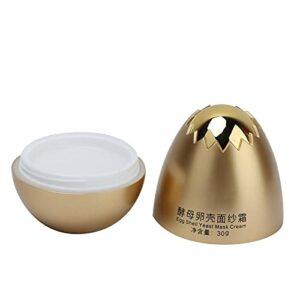 Crème pour le visage, crème de masque à coquille d'œuf, éclaircissante, soin de la peau, crème pour le visage pour raffermir la peau.
