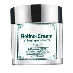 Crème pour le visage pour hydratante de crème anti-ridicule raffermissant, anti-vieillissement, serrage de la peau, peau de crêpe de la peau pour soins faciaux