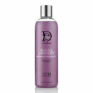 Design Essentials Bain Hydratant pour Cheveux Agave et Lavande Naturels – 354 ml (étape 1)