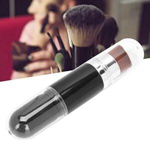 Dissolvant de poudre de poussière d'art d'ongle, brosse de maquillage multifonctionnelle brosse de poudre libre pelucheuse brosse de poussière d'ongle pour le visage cosmétique pour le