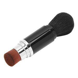 Dissolvant de poudre de poussière d'art d'ongle, outil de maquillage de Brus de maquillage multifonctionnel de brosse d'ombre de fard à joues de maquillage portatif pour le maquillage pour