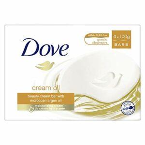 DOVE Savon Pain de Toilette Soin/Huile Surgras 4 x 100 g