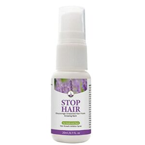 Épilation des cheveux Douce inhibiteur des cheveux sans douleur aiguë pour le bras de bras jambe aisselle 20ml