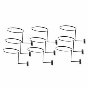 F Fityle Support de Chapeau de Support Mural de 9 Pièces, Peut Garder La Forme Ori-Ginal Du