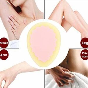 Femmes épilant l'épilation de polissage éponge indolore outil de soin de la peau dépilatoire épilation (Color : Droplet)