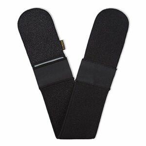Gant de gommage Bronzie, au charbon de bois, pour le dos et le corps.
