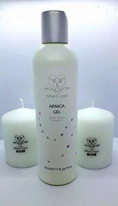 Gel à l'arnica de 250 ml avec Tulsi et réglisse – en particulier pour les peaux sensibles aux couleurs, fines et irritées.