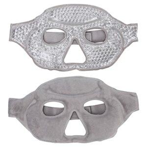 Gel perle Eye Guard, compresse chaude Eye Cover Cooling Eye Cover pour les yeux pour les femmes pour le visage pour Anti-fatigue
