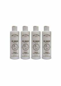 Grenadine Boutique – La Bell' Anesse – Gel Douche au Lait d'Anesse Bio et Sans Paraben – Lot de 4 Flacons de 250ml – Label Provence Nature