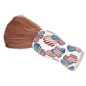 HURRISE Brosse à poussière de Coupe de Cheveux, Brosse de Rasage de Barbe Portable Brosse de Rasage de Cheveux Brosse de Cou de Salon Brosse à poussière de Cou pour Les coiffeurs et coiffeurs