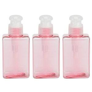 Jopwkuin Flacons Pompes, flacons de Voyage Non Toxiques pour Articles de Toilette avec Plastique pour Propre Lotion pour Gel Douche