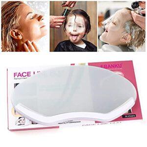 Kalolary 50 Pièces Boucliers de Douche Transparent Hairspray Shield Masques Faciaux pour la Coupe de Cheveux