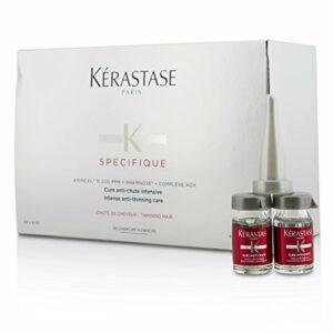 Kerastase – Gamme Spécifique – Cure intensive pour lutter contre les chutes ponctuelles de cheveux – traitement 6 semaines – 42X6ML