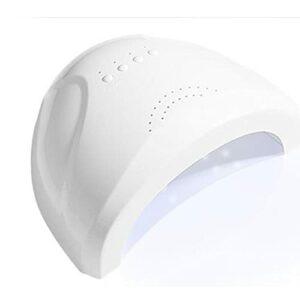 Lampe à ongles UV 48W, lampe à ongles LED à détection automatique intelligente, pour vernis à gel sec et professionnel 30 LEDs lampe à polymériser avec 3 réglages de minuterie