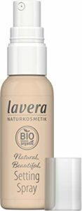 lavera Spray naturel pour un maquillage naturel – Finition transparente