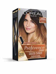 L'Oréal Paris Préférence Ombré Tie & Dye Intense Cheveux Châtain Foncé (N°104)