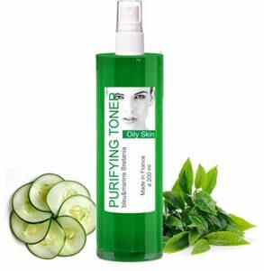Lotion Tonique Purifiante Peau Grasse et Acné au Thé Vert Spray 200 ml – sans alcool