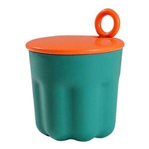 Moussant nettoyant de la mousse de mousse de mousse manuelle portable gelée visage machine de machine de douche mousseuse mousse vert foncé vert