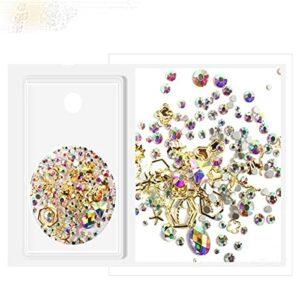 Nail DecorationMixed Nail strass bijoux diamant ongles nail artCristal diamant flamme diamant-Chine,G2021217-2