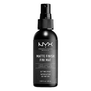 NYX Professional Makeup Spray Fixateur de Maquillage, Tenue Longue Durée, Spray de Finition, Formule Vegan, Fini Mat, Format Maxi 180 mL