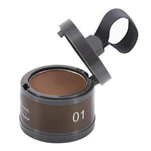 Outil de beauté, poudre d'ombre légère et compacte, pour les cheveux des femmes, des hommes(1#)