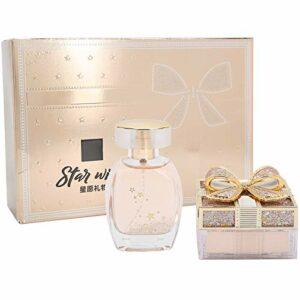 Parfums pour Femmes, Parfum pour Femmes Contrôle de L'huile de Parfum Mise en Vrac Coffret de Poudre Cadeau de Saint-Valentin, Coffret de Beauté