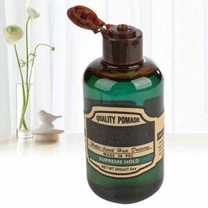 Pommade sûre et inoffensive, gel capillaire facile à appliquer, pour salle de bain