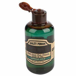Pommade sûre et inoffensive, Gel de coiffures de longue durée Pommade forte, facile à appliquer 200 ml pour la maison de salle de bain