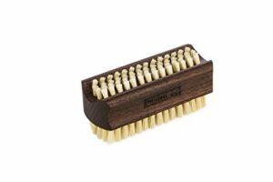 REMOS Brosse à main et ongles avec poils naturels en bois frêne – deux côtés