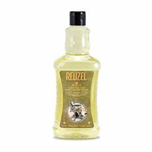 Reuzel – 3-In-1 Tea Tree Shampoo – Shampoing après-shampoing et gel douche – Apaise la peau et hydrate le cuir chevelu – Parfum de menthe verte – 33.81 oz/1000 ml