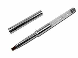 RM Beauty Nails Gel UV professionnel pinceau en cheveux naturels avec strass pour ongles Design