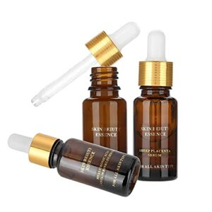 Sérum pour le visage pour réduire les taches de vieillesse, blanchiment à l'essence et éclaircissant pour les crèmes ingrédients de soin de jour.